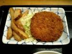 上野昭和通り食堂 メンチカツ002