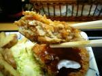 上野昭和通り食堂 メンチカツ004