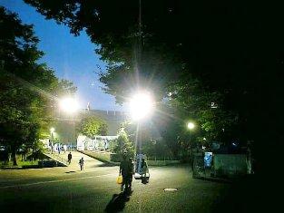 三ツ沢球技場で富士宮やきそば002
