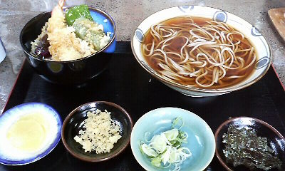 天丼蕎麦セット