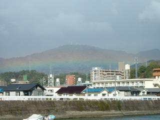 掃除屋さんの見た虹