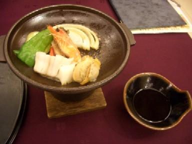 b海鮮陶板焼き
