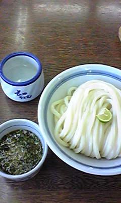 長田うどん冷やし20080722