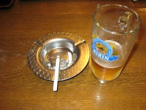 ラドン温泉・由良里の湯 ビール