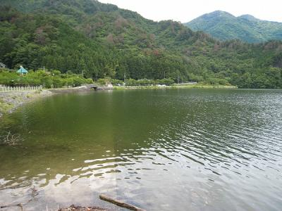 金砂湖スロープ
