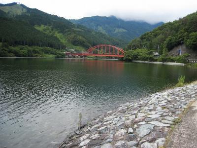 金砂湖スロープ橋