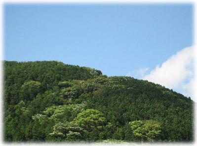 南阿蘇の山々