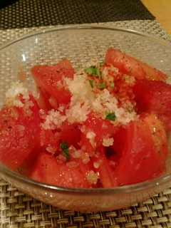 トマトサラダ!絶品♪