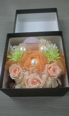 オレンジシャーベット・ケーキ (1)