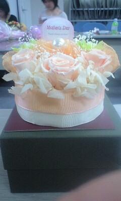 オレンジシャーベット・ケーキ (2)