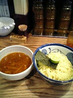 624つじ田二段式辛つけ麺