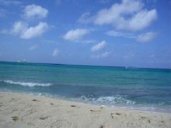 コスメルの海