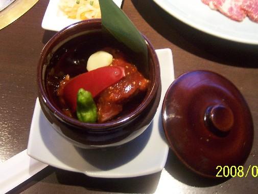 画像 焼き肉トラジ 015 28豚肉のつぼ味噌漬け