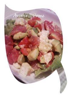 アボガドサラダ1