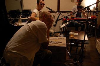 前開きボタンBlues Band