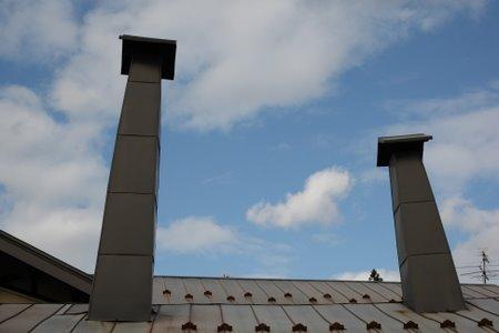 鍛冶屋さんの煙突