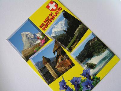 スイスからのお便り