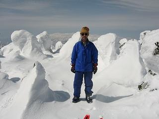 西吾妻山頂