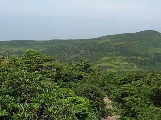 屏風山から芝草平・杉ケ峰方面