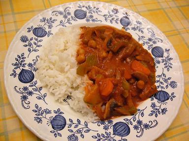 菜食ハッシュドビーフ