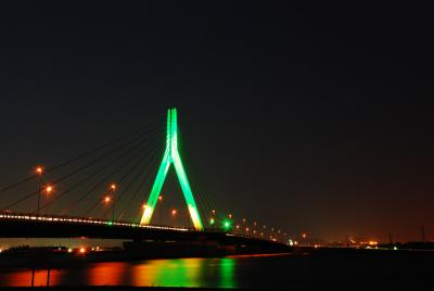 Illuminated bridge2