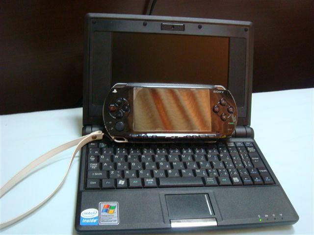 EeePC vs PSP(笑)