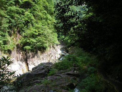 三段峡石樋周辺