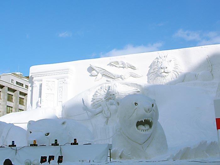 雪祭りナルニア