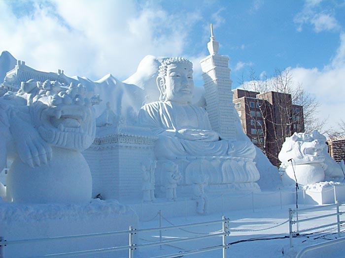 雪まつり台湾