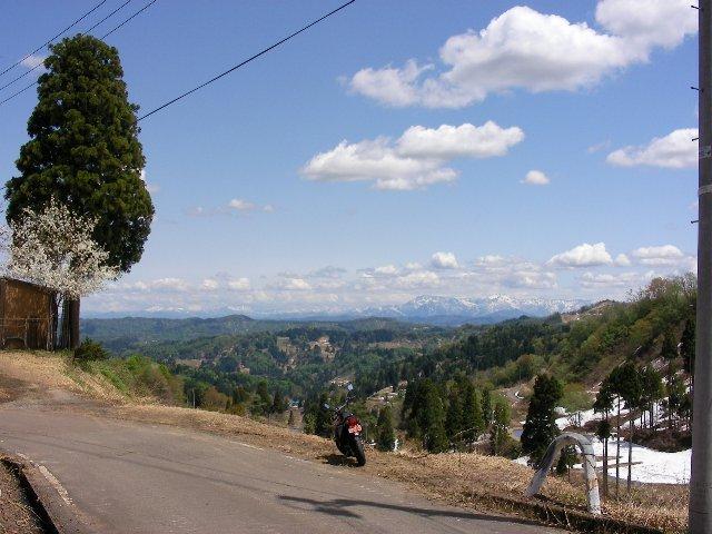 三方峠からの景色