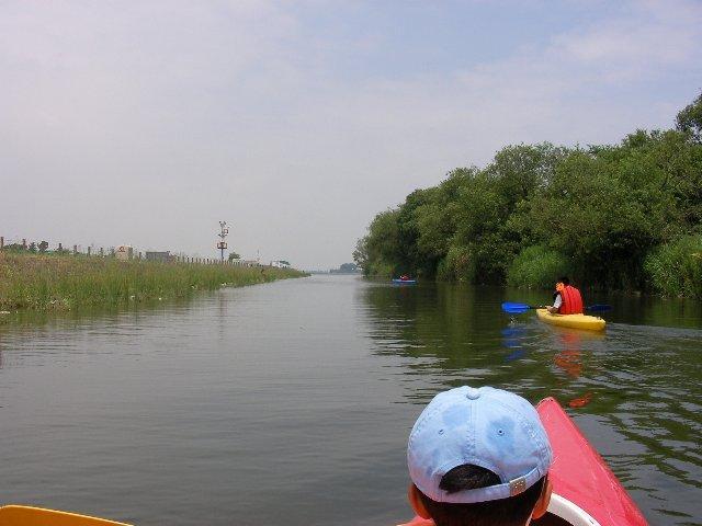 カヌー体験2008