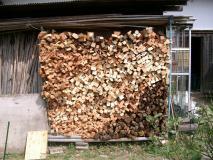 薪がいっぱい出来ました