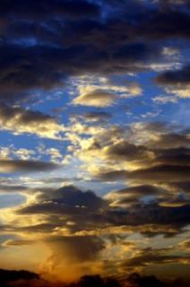 雲の編隊みたい