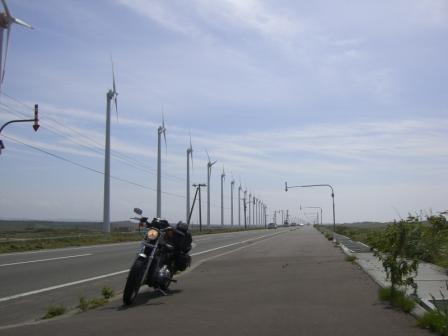 サロベツ風車振り返り