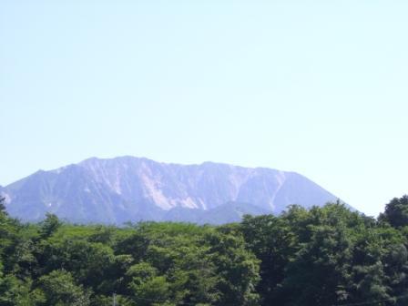 14:44展望台から大山