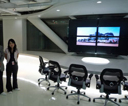 中国の豪奢なオフィス