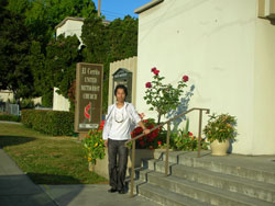 隅にある教会