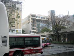 日本の実家の駅前