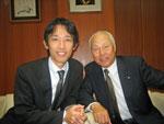 会長と金沢にて