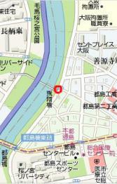 大川の桜map