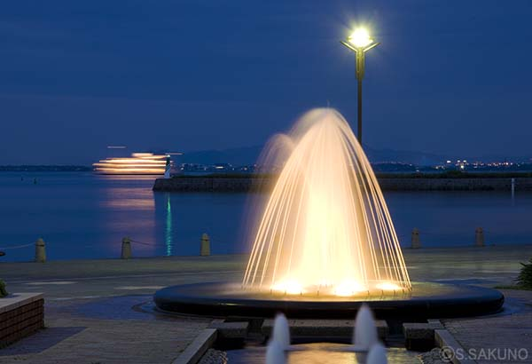 浜大津夜景01024W5390