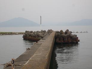 琵琶湖(新旭)の港
