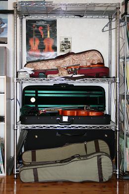 楽器置き場