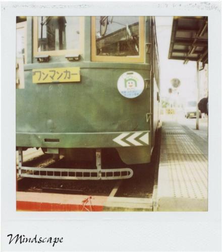 ミドリの電車