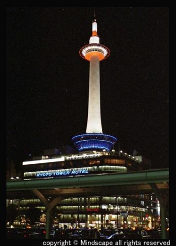 京都タワー@夜