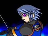 弓を引く騎士