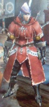 赤衣の龍騎士