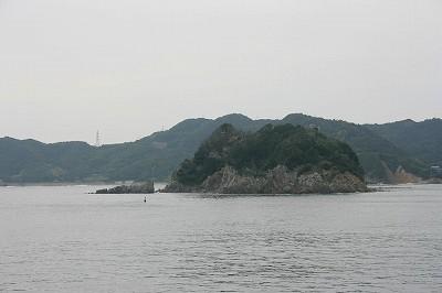 安徳天皇の縁の島らしい
