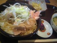 豚すき焼き丼