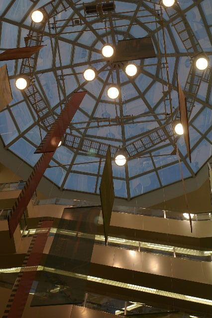 イオンモール天井